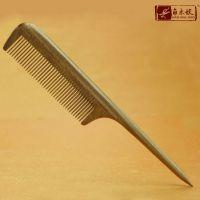 梳子木复古檀木工艺品天然绿檀合木梳子 檀香木手柄梳 美容美发梳