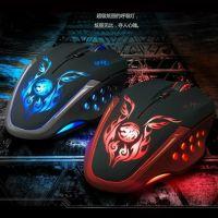供应炫光 L8魅影版USB有线 电脑游戏竞技鼠标 网吧鼠标可批发