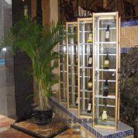 钛合金展示柜珠宝展示柜饰品展示柜金凯登发货架1600*900*800