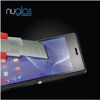 高端品质钢化玻璃手机贴膜 新品索尼Z2防油防水钢化玻璃膜0.3mm
