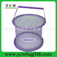 厂家 订做生产 礼品购物篮  手提网篮