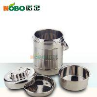 诺宝BWG001直形提锅Stainless Steel Thermos for Hot Food
