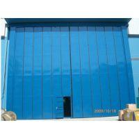 遵义大型钢质折叠门,超大折叠门,厂房大型折叠门厂家(图)
