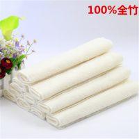 100%竹纤维抹布 洗碗布 不沾油洗碗巾 百洁布一代23*18白