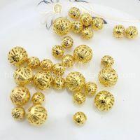 批发金属珠子 网珠子 DIY手工材料饰品配件 手链项链配件 8mm
