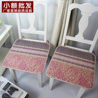 厂家直销田园夏薄款椅子坐垫布艺防滑耐脏纯棉电脑办公餐椅垫