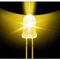 圆头暖白光led灯珠 色温:2700K 晶元芯片深圳陈氏光电