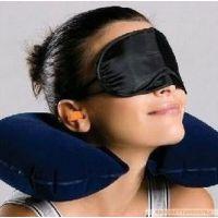 批发供应家居用品U枕护颈枕 充气枕 U型枕头 三件套