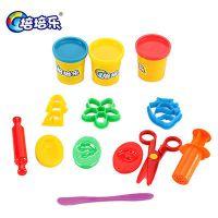 正品培培乐 儿童3d彩泥模具套装字母数字学习创意泥橡皮泥(0044