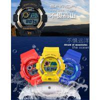 亚马逊 多功能夜光 防水户外登山运动 电子表 速卖通爆款潜水腕表