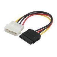 供应IDE电源转SATA电源线 D型4针转15串口电源线 SATA串口硬盘电源线