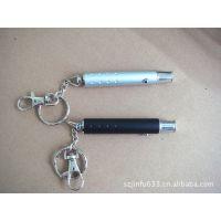 【厂家供应】LED小手电筒镭射小手电筒 钥匙扣 可加印logo