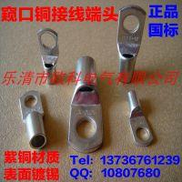 供应窥口铜鼻子SC70-8 广州铜线鼻子厂家 窥口铜接线端头规格