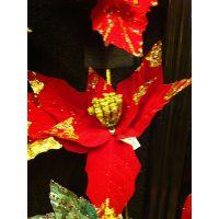 圣诞装饰花枝 圣诞花条 场景装饰花条 圣诞装饰花 场景装饰花批发