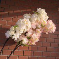 热卖促销樱花仿真花 假花绢花餐桌花卉装饰花艺 大枝落地花摆放