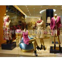 女全身坐模 个性姿势 橱窗展示 99%回头率 服装道具模特 广州模特