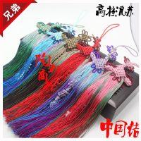 厂家批发 进口高档真丝流苏渐变 中国结穗子套装 高档流苏车挂件