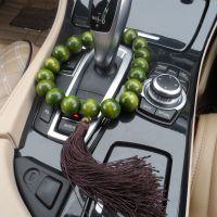 25mm绿檀大佛珠汽车挂件 档位珠汽车挂件大佛珠汽车挂件 档位佛珠