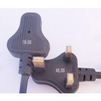 供应厂内直销两芯英国插头电源线|英式带八字尾电源线|英式电源线