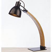 现代原木灯具 厂家供应 古镇客厅专用木制台灯 莫妮卡台灯