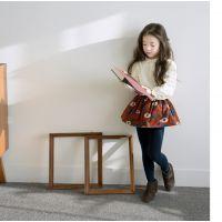 3357 韩版 女童翻领打底衫 长袖衬衫娃娃衫 2015春款外贸童装批发