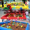 南阳儿童广场游乐选择定做充气决明子沙滩池海洋球组合沙滩池