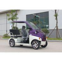 新款电动四轮观光车 电瓶代步车1 2 老年人代步车价格