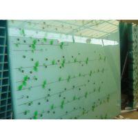 专业生产丝印玻璃 高温丝印玻璃 8mm钢化玻璃 玻璃工艺加工