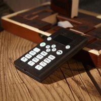 手工黑檀木创意木制手机 半米木bonmimo 实木 花纹 颜色随机