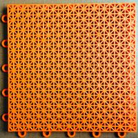 胜日地板 悬浮式拼装地板【实用版橙】