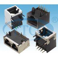 供应优质RJ45网络插座90°插板型