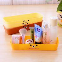 阮林芬 懒懒熊轻松熊优质塑料抽屉收纳盒中号桌面化妆品杂物整理