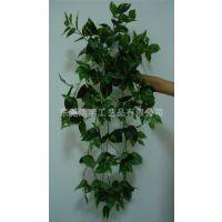 供应仿真壁挂叶子 仿真壁挂 人造植物墙 假植物可定制