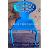 优质一次成型塑料椅 餐厅家用椅子 供应户外室内塑胶椅 厂家特供