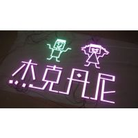 环氧树脂发光字 不锈钢等箱字制作 LED发光字 广告门头招牌定做