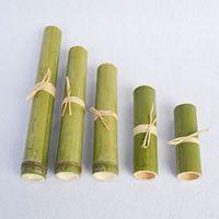 厂家定制安全环保竹筒粽包装 单节便携式粽子包装筒