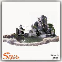 仿真园林造景雕塑 专业设计假山流水景观工程