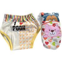 超透气可洗婴儿尿布裤透气隔尿布尿裤可调节尿布兜