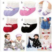 厂家批发官网同步宝宝鞋型松口袜子 防滑袜 地板袜9-12