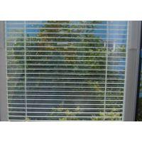 供应阳台中空玻璃百叶窗铝合金百叶窗帘阳台中空玻璃百叶窗