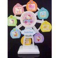 八音风车相架 摩天轮音乐旋转相框 儿童宝宝相框 9张照片YX004259