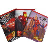 漫威超级英雄系类儿童绘画本 白纸本 美术课专用 大小可定制