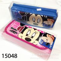 韩国文具 笔袋 学生文具盒 帆布 牛筋布料笔袋 迪士尼 米奇 联众