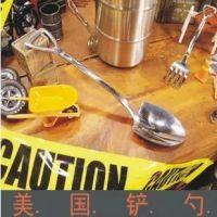 创意农夫工具铲叉勺 美国铲勺 旅游不锈钢餐具 非折叠组合餐具