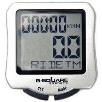 B-SQUR背光夜光码表 自行车骑行码表 单车速度表 里程表 带温度表