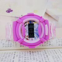 小额批发粉红芭比卡通儿童手表批发 可爱迪士尼厂家直销电子手表
