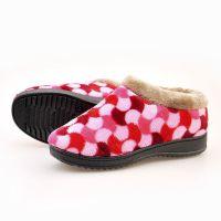 棉靴批发冬款女式保暖棉鞋绒面居家毛口拖老北京布鞋短靴06302