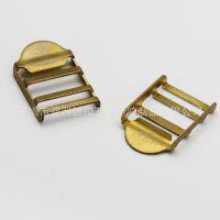 供应铜质 过检针 书包扣  箱包扣 目字扣 调节扣 20mm内径