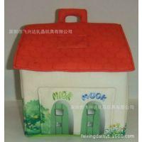 儿童填充玩具小房子动物房子狗窝填充棉花欢迎定制
