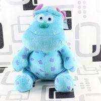 迪士尼 怪物电力公司怪兽大学苏利文长毛怪公仔玩偶毛绒玩具